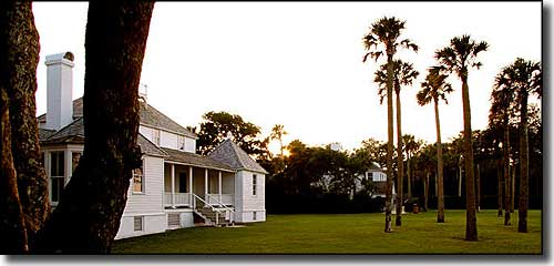 The owner's house at Kingsley Plantation
