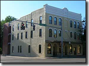 Historic building in downtown Gainesville