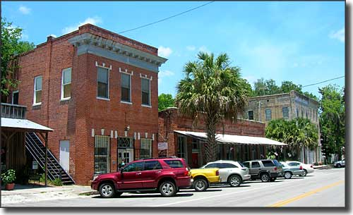 Downtown Micanopy, Florida