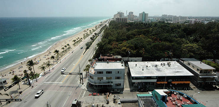Fort Lauderdale beach strip