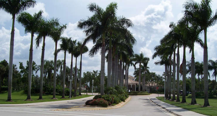 A view in Pembroke Pines