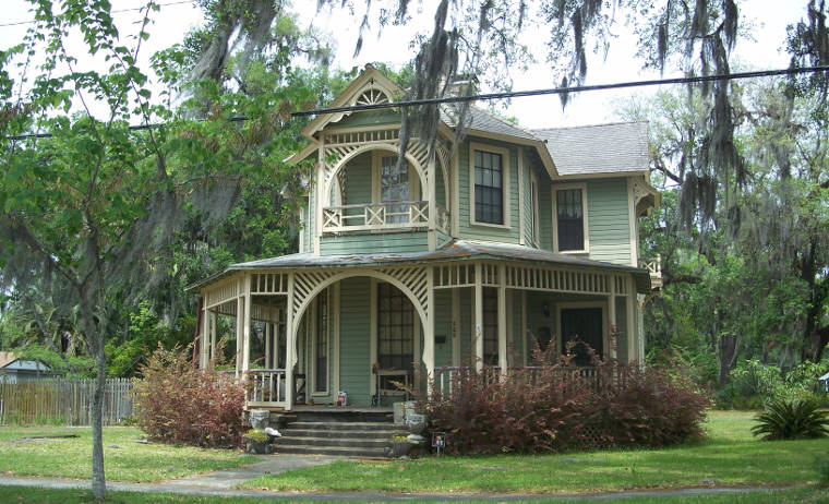 Historic house in Green Cove Springs