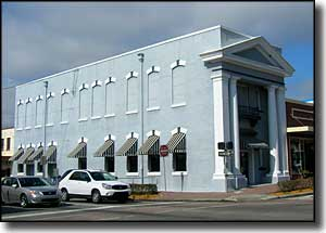 Historic building in downtown Brooksville