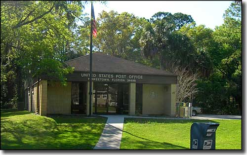 Yankeetown, Florida Post Office