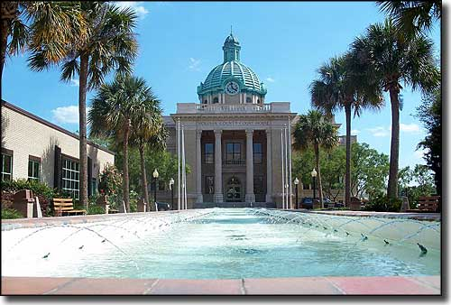 The old Volusia County Courthouse in DeLand