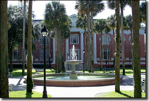 Sampson Hall at Stetson University