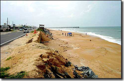 The Flagler Beach Beachfront In Volusia County