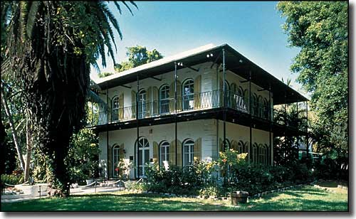 The Ernest Hemingway Home & Museum in Key West