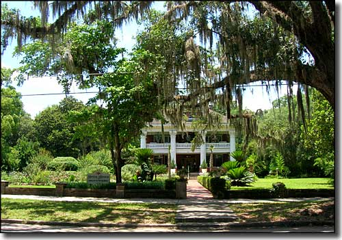 Herlong Mansion on Main Street in Micanopy