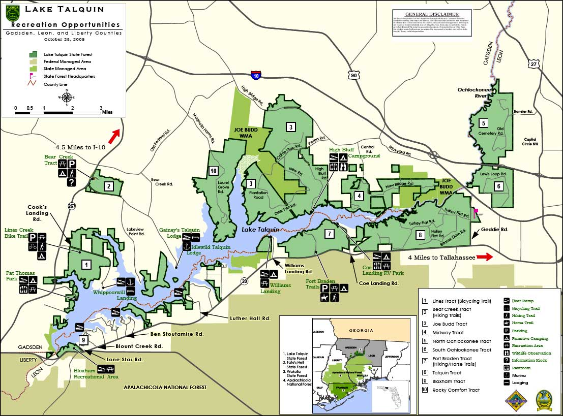 Lake Talquin State Forest | Florida State Forests