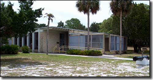 Visitor Center at Cedar Key Museum State Park