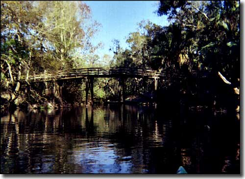 A footbridge across the Hillsborough River