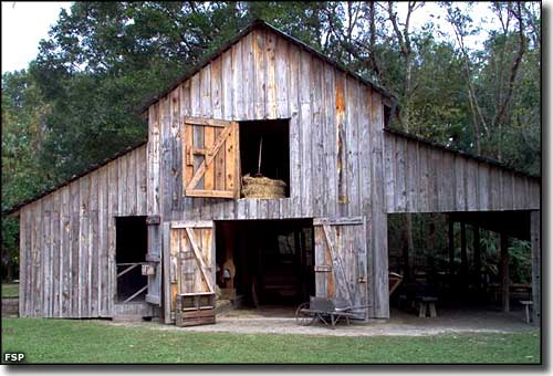 Barn at Marjorie Kinnan Rawlings Historic State Park