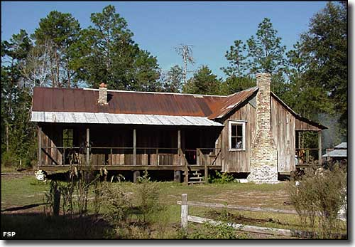 Silver river state park florida state parks for Cracker style log homes prices
