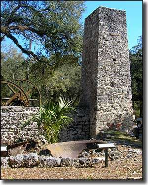 Remains of the Yulee Sugar Mill