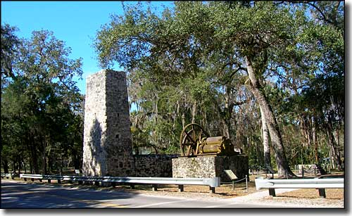 Yulee Sugar Mill Ruins Historic State Park